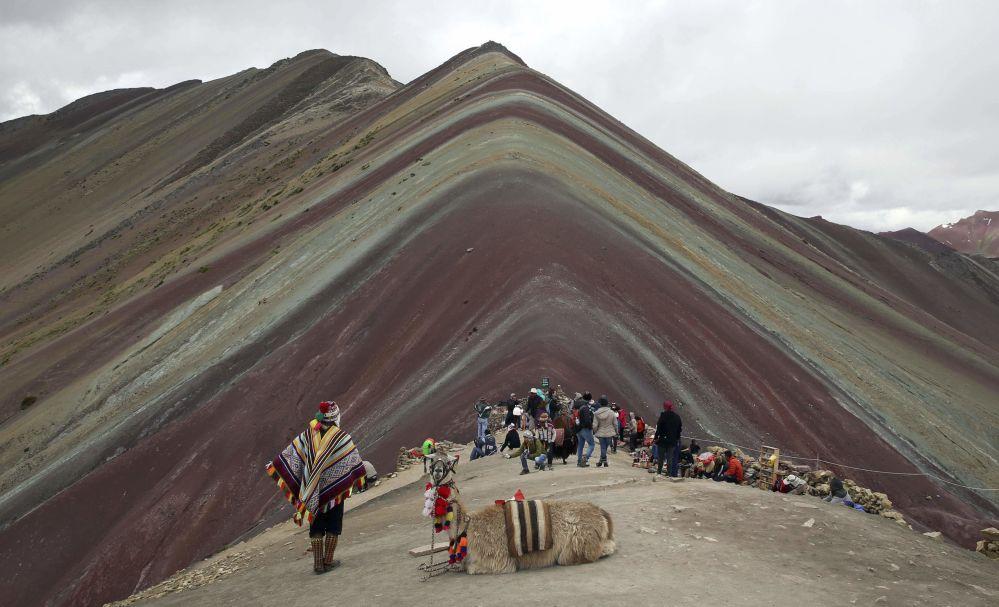 秘魯彩虹山。