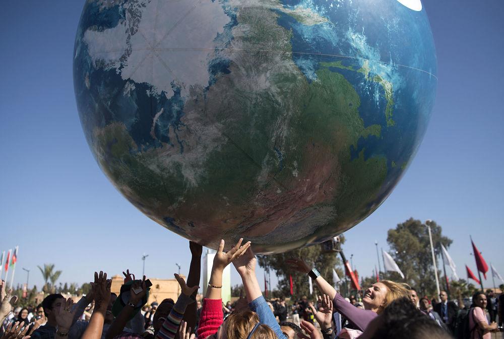 聯合國氣候變化大會。