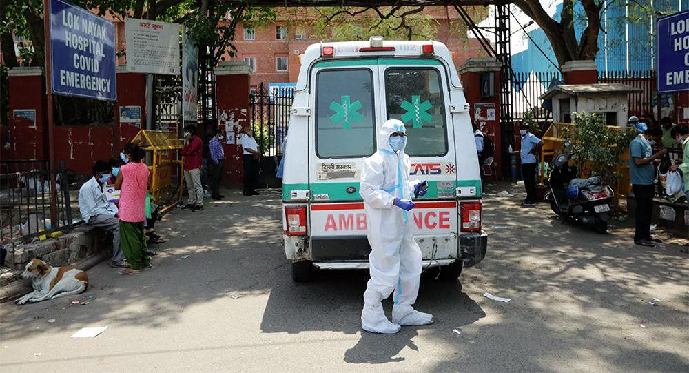 印度單日新增新冠肺炎病例破紀錄