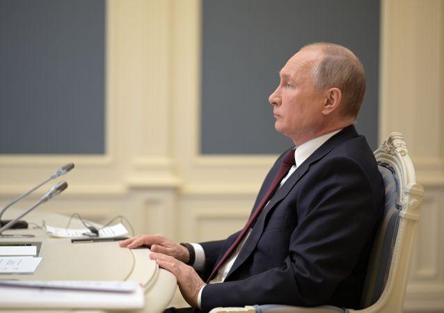 克宮:普京的公共活動增加  但仍受防疫限制