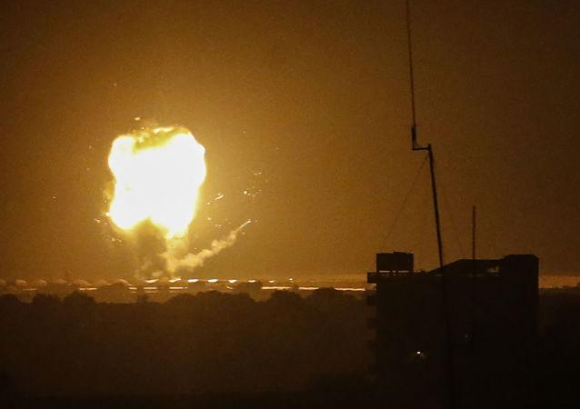 加沙衛生部:以色列空襲已經導致加沙83人死亡