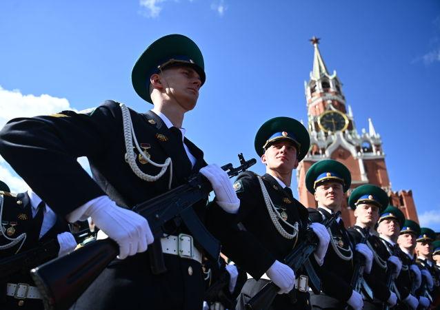 莫斯科紅場舉行勝利閱兵總排演