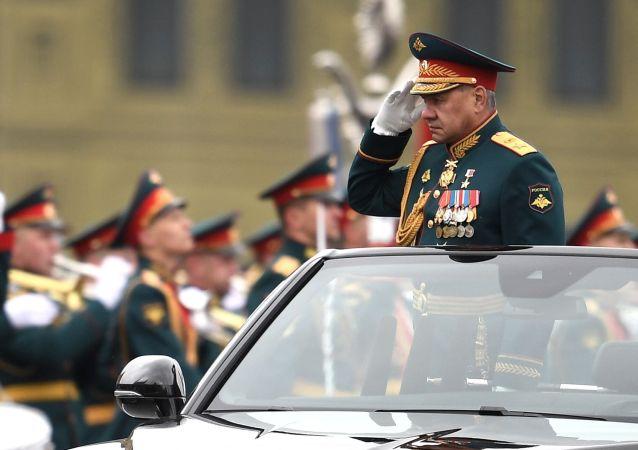 紹伊古對所有參與衛國戰爭勝利76週年閱兵的人表示感謝