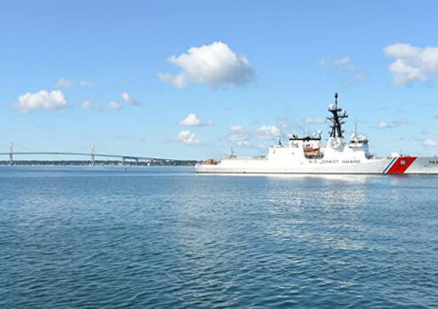 美護衛艦13年來首次進入敖德薩港