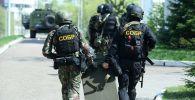 處置喀山市第175學校槍擊案行動的俄羅斯警員。
