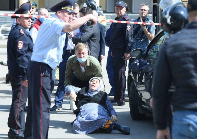 俄韃靼斯坦領導人因喀山學校槍擊事件宣佈明日為哀悼日