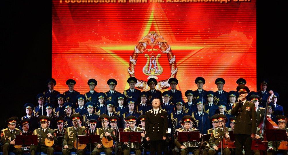 俄羅斯亞歷山大羅夫歌舞團