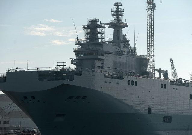 俄羅斯請法國就未供應「西北風」級航母做出解釋