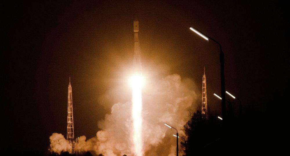 使用聯盟-2.1B發射至太空的格洛納斯Glonass-M衛星進入預定軌道