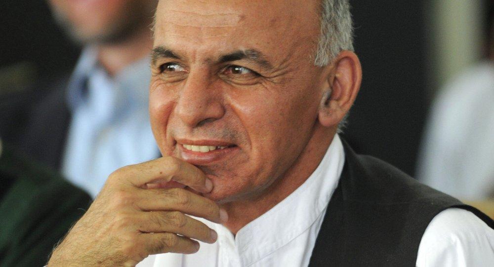 阿富汗總統阿什拉夫·加尼·艾哈邁德扎伊