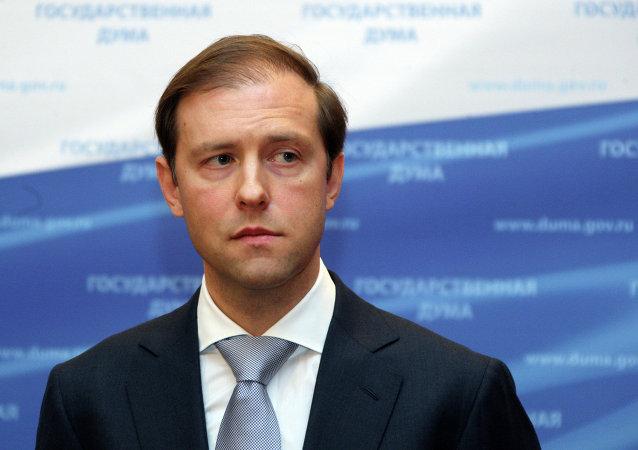 俄羅斯工業貿易部長曼圖羅夫