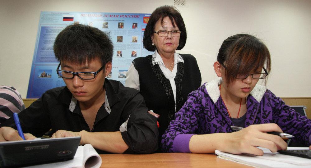 俄高考漢語科目首考百分制平均分數為62.5分