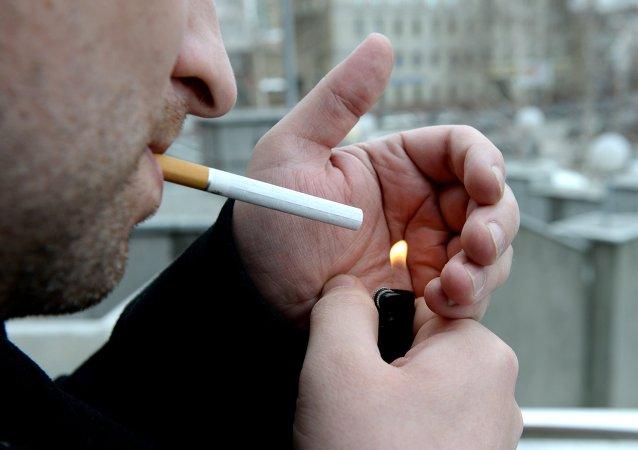 俄羅斯吸煙者數量近年來顯著下降