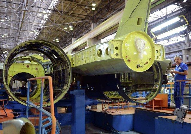 俄中寬體客機設計將於2016年3月前被批准