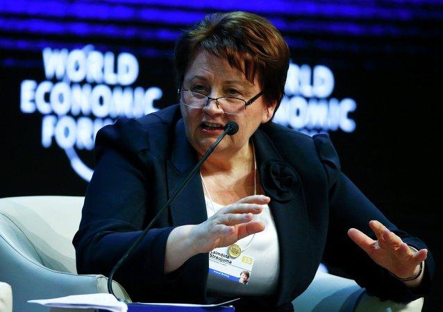 拉脫維亞總理:切斷俄羅斯與SWIFT系統的聯絡將使全球經濟癱瘓