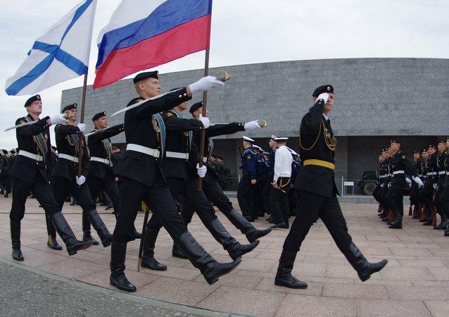 俄海軍陸戰隊員
