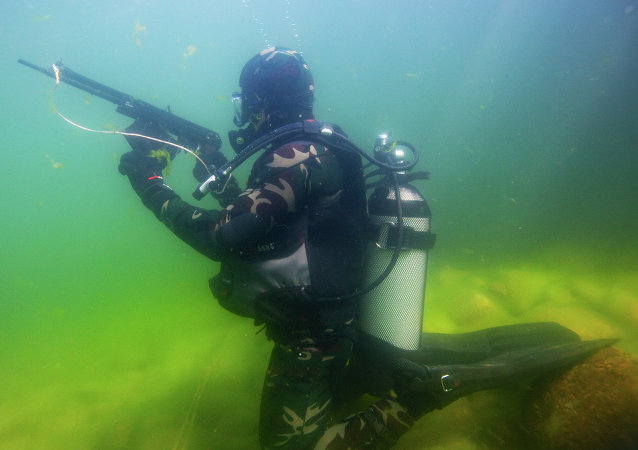 APS水下突擊步槍
