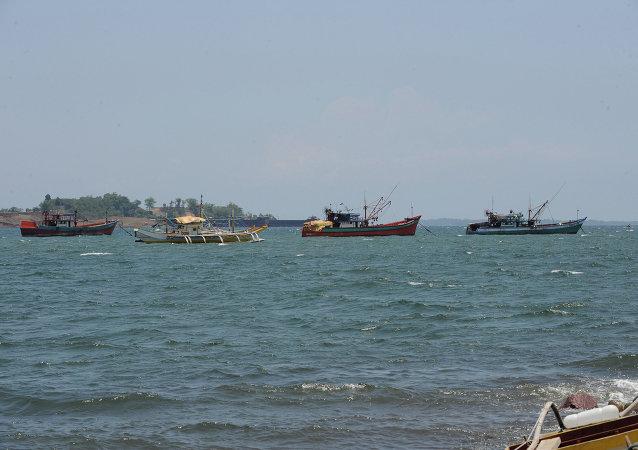中國要求菲律賓不要在南海爭議海域從事漁業活動