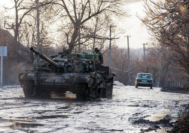 民兵正撤出裝備,頓巴斯地區的「安靜」規定被基本遵守