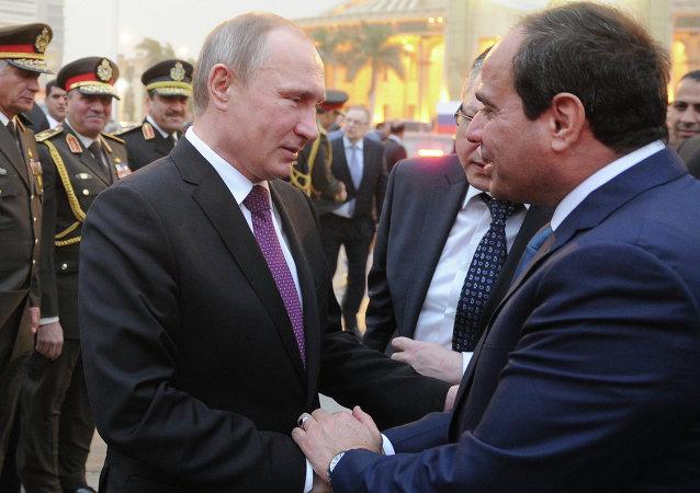 埃及總統與普京通話討論反恐合作