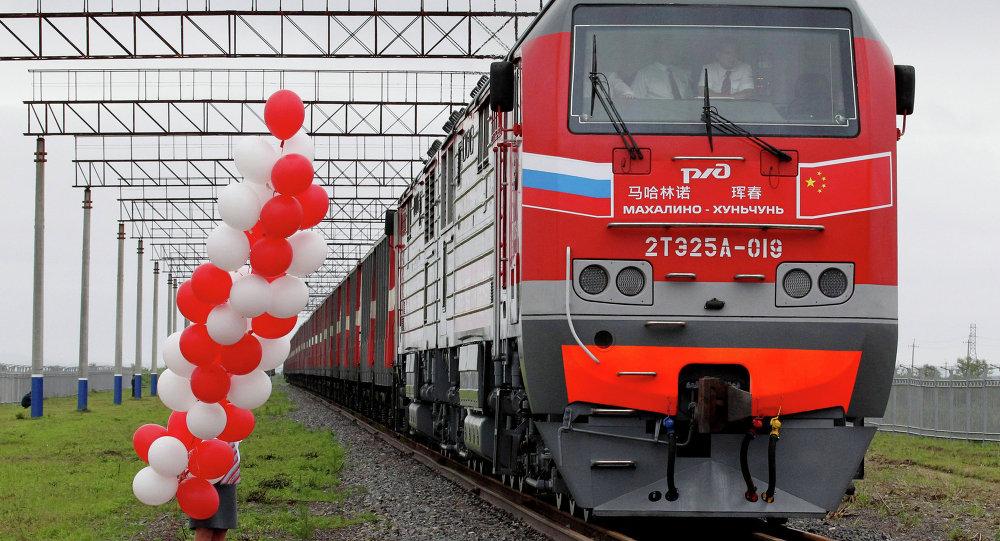 中俄琿春-馬哈林諾鐵路國際聯運線路實現常態化運行