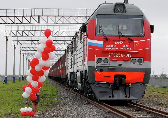 中俄邊境鐵路口岸