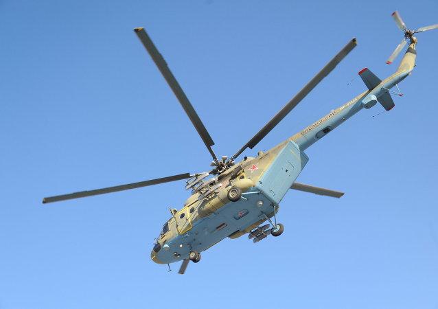 米-8AMTSh直升機