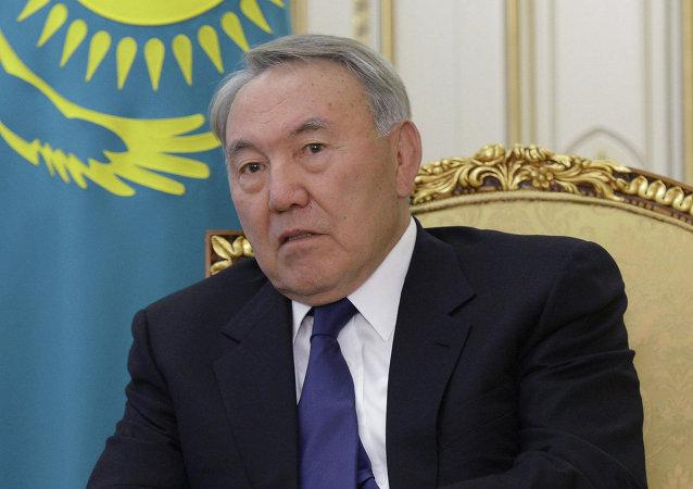 哈薩克斯坦總統努爾蘇丹•納扎爾巴耶夫