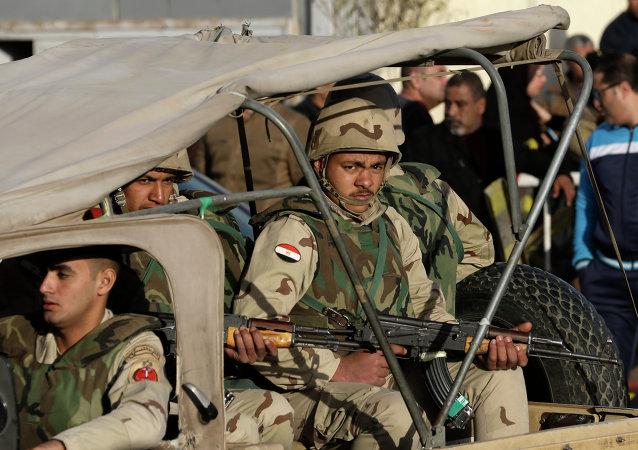 埃及軍隊宣佈實施特別行動消滅126名恐怖分子