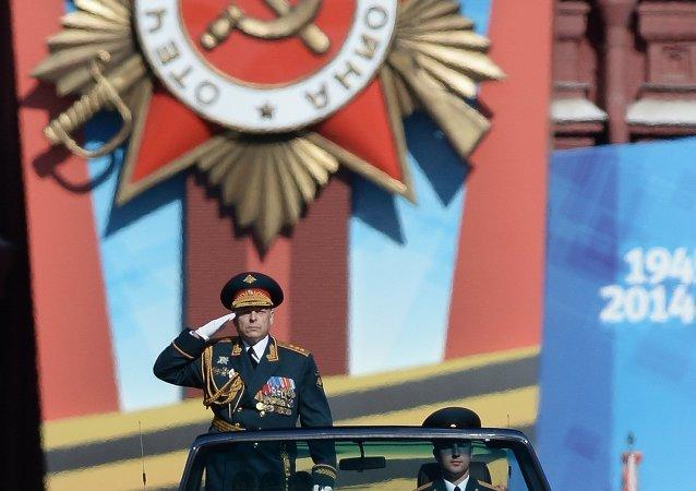 俄羅斯陸軍總司令奧列格•薩柳科夫