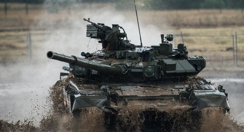 一些中東國家決定採購俄制T-90型坦克