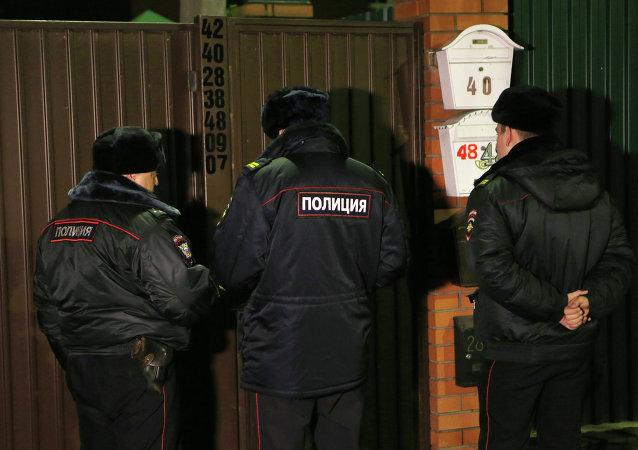 俄羅斯警察/資料圖片/