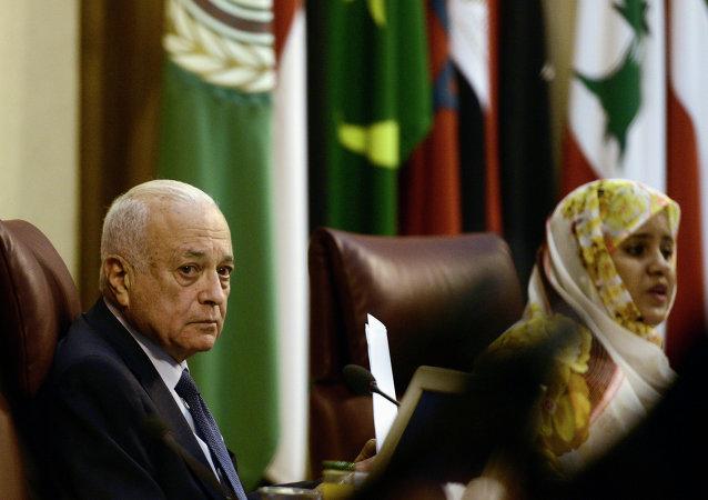 阿拉伯聯盟秘書長阿拉比/資料圖片/