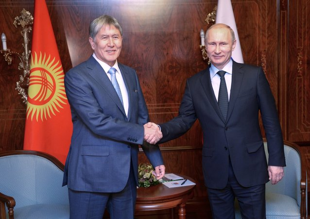 吉爾吉斯斯坦總統:俄羅斯的國際威望日益提高