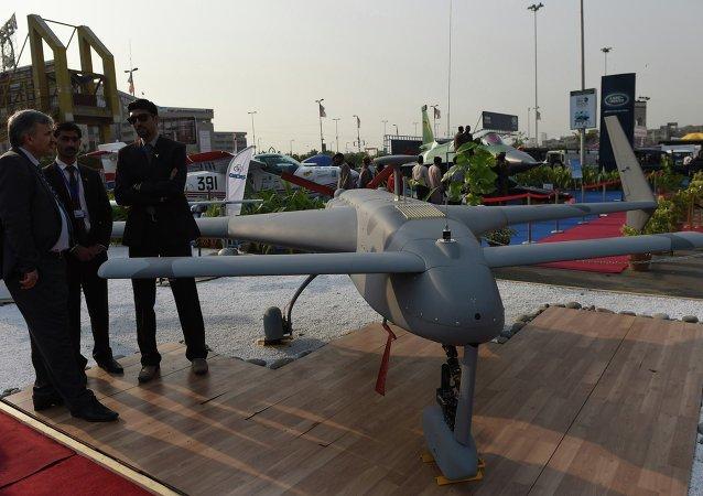 巴基斯坦首架自主研發的無人機順利通過測試