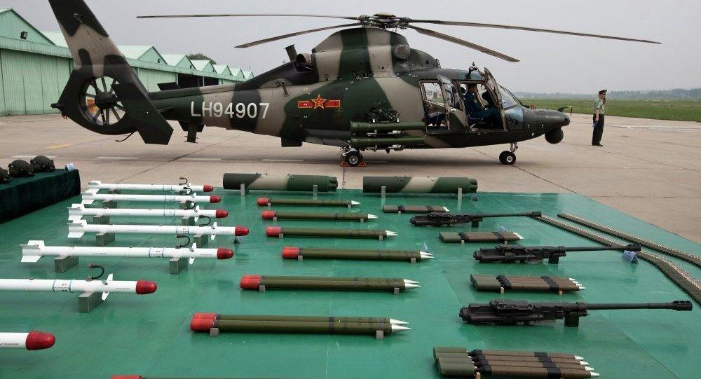 過去五年中國武器出口額增長38%