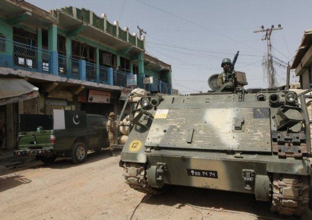 美國將來自阿富汗和伊拉克的軍事裝備交予巴基斯坦