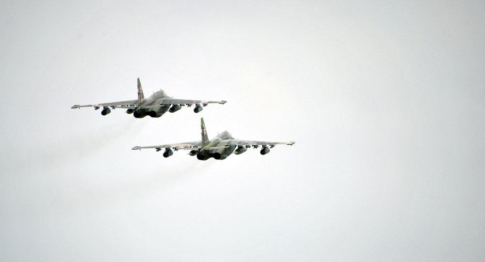 亞美尼亞國防部:一架蘇-25飛機失聯