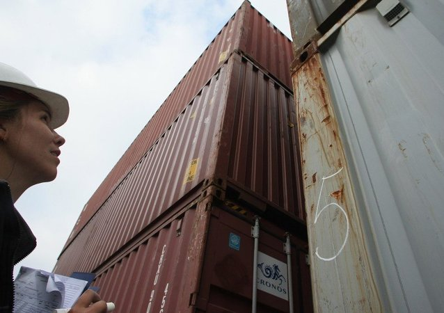 俄符拉迪沃斯托克港新增一條俄中集裝箱班輪航線