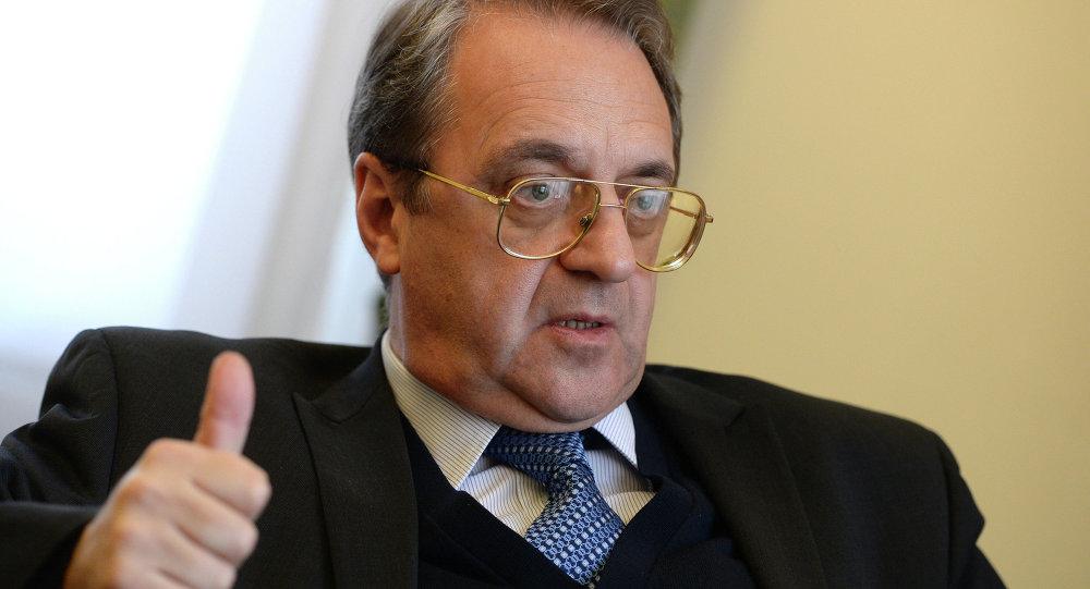 俄外交部副部長米哈伊爾∙波格丹諾夫