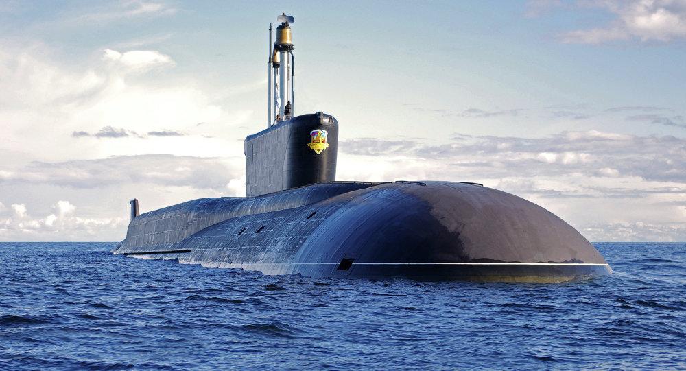俄海軍最新型「北風之神」核潛艇