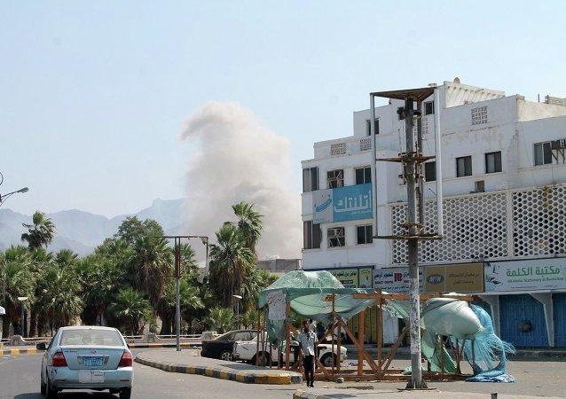 也門城市亞丁遭到轟炸,45名無辜居民遇難