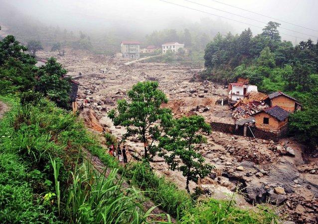 湖南洪災致十餘人死亡