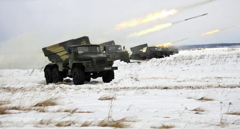 頓涅茨克人民共和國:烏軍用冰雹火箭炮向頓涅茨克開火