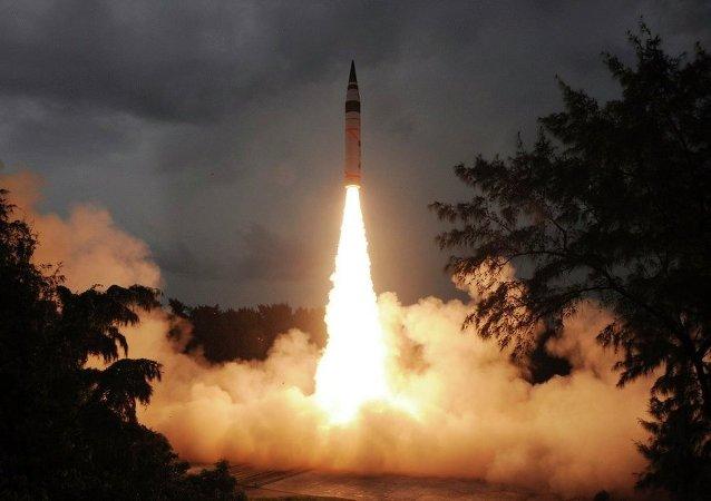 印度攔截導彈試驗
