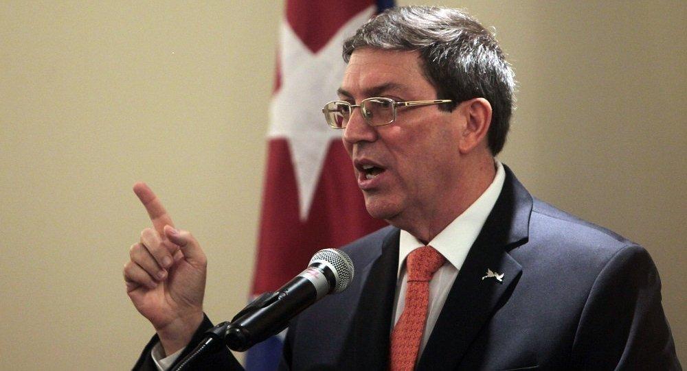 古巴外長布魯諾·羅德里格斯