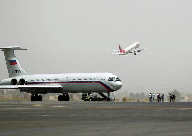 消息人士:又一架俄飛機將含外國公民在內的150人撤離也門