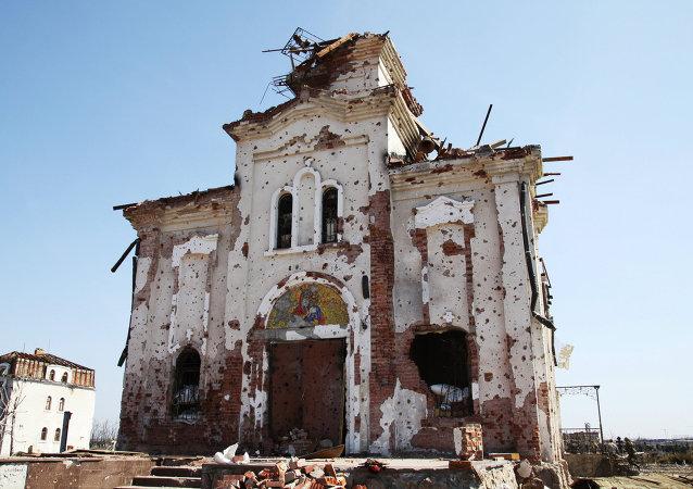 普羅特尼茨基:基輔當局損毀盧甘斯克共和國8000余棟居民住宅
