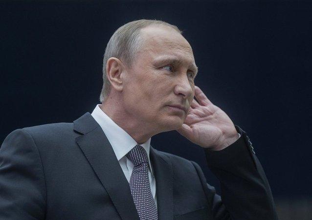 俄聯邦總統弗拉基米爾∙普京