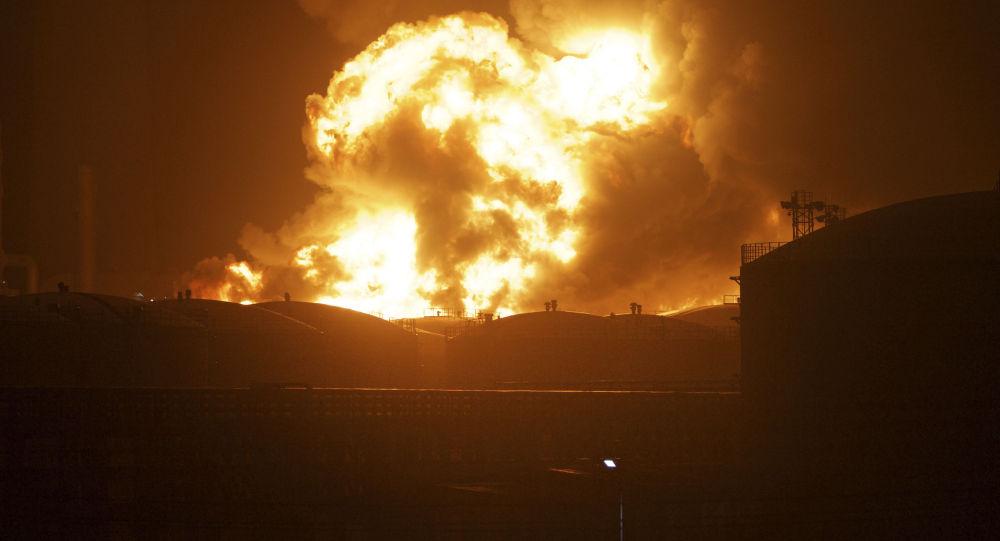 江蘇爆炸事故造成2人遇難7人被困